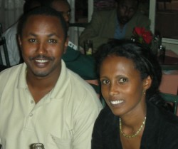 Ethiopian couple
