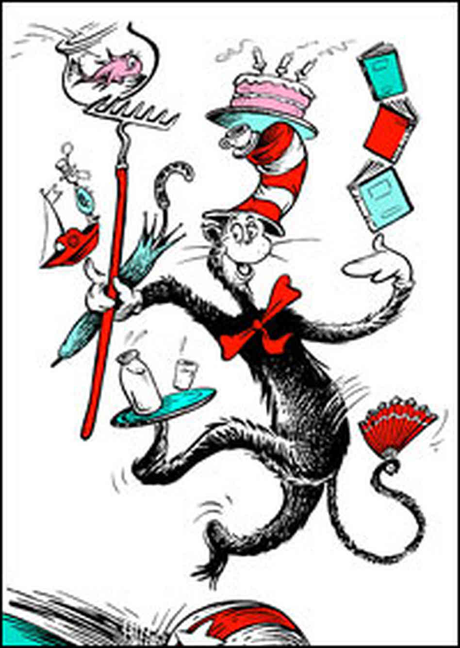 The Cat from <cite>The Cat in the Hat</cite>